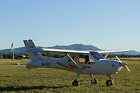 One of Lilydale Flying School's Jabiru J-160's watching the sunset at Lilydale airport