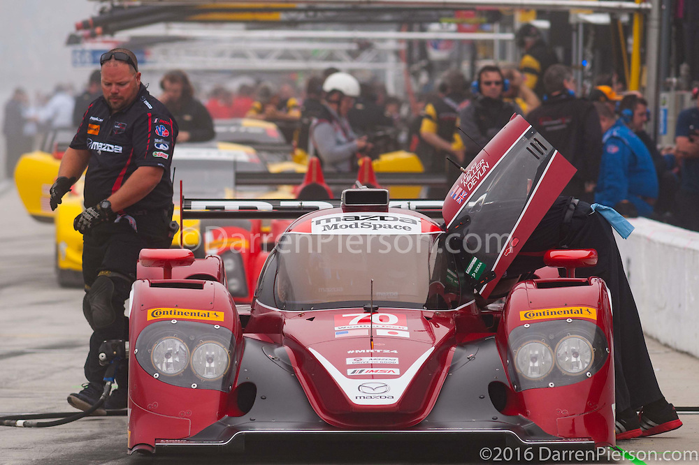 #70 Mazda Motorsports Mazda: Ben Devlin, Joel Miller, Tom Long