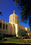 Image of the Oregon State Capitol in Salem, Oregon, Pacific Northwest