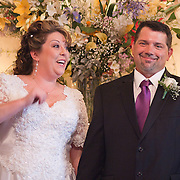 11/11/11 Elkton MD: Susan Lynn McGinnis and Michael Paul Daugherty of New Castle Delaware pose for pictures during their wedding ceremony Friday, Nov. 11, 2011 at Elkton Wedding Chapel in Elkton Maryland.<br /> <br /> Special to The News Journal/SAQUAN STIMPSON