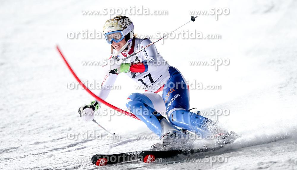 13.01.2015, Hermann Maier Weltcupstrecke, Flachau, AUT, FIS Weltcup Ski Alpin, Flachau, Slalom, Damen, 1. Lauf, im Bild Michelle Gisin (SUI) // Michelle Gisin of Switzerland in action during 1st run of the ladie's Slalom of the FIS Ski Alpine World Cup at the Hermann Maier Weltcupstrecke in Flachau, Austria on 2015/01/13. EXPA Pictures © 2015, PhotoCredit: EXPA/ Johann Groder