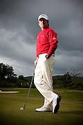 Scottish open 2010 Thursday at Loch Lommond. Graeme McDowell portrait