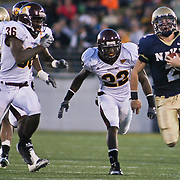 Backup quarterback Kriss Proctor ran 20 times for a career-high 201 yards and a touchdown on a brisk Saturday afternoon at Marine Corps Memorial Stadium in Annapolis Maryland.<br /> <br /> Navy improves to 7-3, Navy will return home November 20 to face Arkansas State.