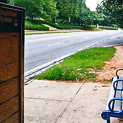 MARTA bus stop Sandy Springs