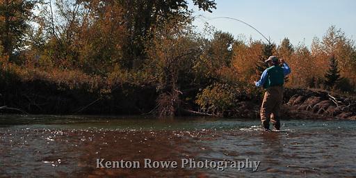 Flyfishing the Blackfoot River