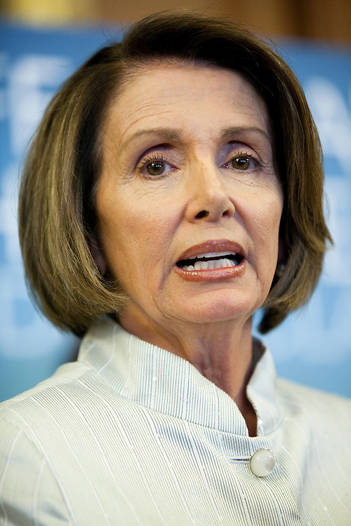 House Speaker Nancy Pelosi (D-CA) speaks at a news conference on health care reform on July 22, 2009 in Washington, DC. Speaker Pelosi is pushing for the House to pass a bill before the August Congressional recess.
