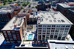 Roaster's Block in Kansas City, Missouri; residential apartment conversion of the former Folger's Coffee plant by O'Reilly Development Co./Build LLC.