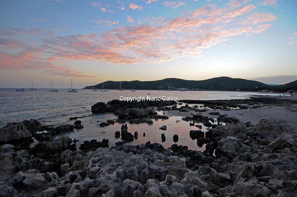 Salinas beach, Ibiza
