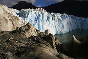 The San Rafael glacier ends its journey in Patagonia, Chile, Feb. 1, 2004. Daniel Beltra/Greenpeace.