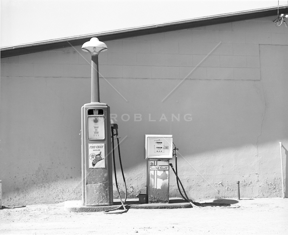 old fashioned gas pumps | ROB LANG IMAGES: LICENSING AND COMMISSIONS