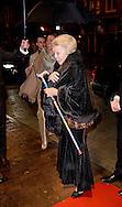 14-11-2015 AMSTERDAM - Princess Beatrix attends Monday November 14, 2016 at DeLaMar Theater in Amsterdam at the 19th edition of the Ballet Gala Foundation Dancers '79. COPYRIGHT ROBIN UTRECHT<br /> <br /> 14-11-2015 AMSTERDAM - Prinses Beatrix met een wandelstok woont maandagavond 14 november 2016 in het DeLaMar Theater in Amsterdam de 19e editie bij van het Balletgala van Stichting Dansersfonds &rsquo;79. COPYRIGHT ROBIN UTRECHT