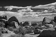 Desert Mountain Landscapes from California
