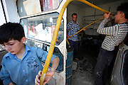 Since regular fuel distribution collapsed in Syria motorized mobility relys on very basic equipped improvised gas stations and often dangerous simple handling with low quality fuel from rebel held areas of Syria.<br />