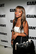 Keesha Johnson at The Giant Magazine Party, celebrating cover girl Kimora Lee Simmons and new Editor-in-Chief Emil Wilbekin, the award-winning editor as he unveils his debut issue.