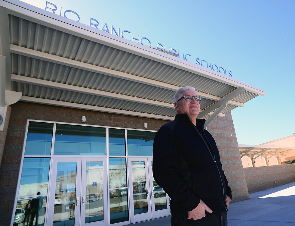 apl030217b/RIO RANCHO/pierre-louis/030217/JOURNAL<br /> Rio rancho Public Schools Board President Don Schlichte,,didn't seek reelection after 16 years of service .Photographed  on Thursday March 2, 2017. .Adolphe Pierre-Louis/JOURNAL