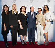 (L)Caroline Kim, Editorial Director at LX.TV; Kathleen Ruiz, Vice President at Saks Fifth Avenue; Laurie Brookins, Senior Fashion Editor at Niche Media; Aniello Mussa, Italian Trade Commissioner for the U.S.; Nancy Ross, Professor at F.I.T.; Ann Caruso, Celebrity and Fashion Stylist. SHOP ITALY NYC, promoted by the Ministry of Economic Development and organized by the Italian Trade Commission, celebrates Italian quality and heritage during SHOP ITALY NYC; an exciting one month long series of consumer shopping events, restaurant experiences and promotions throughout Manhattan.