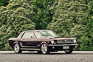 1966 Ford Mustang Coupe Maroon