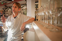 """Sous-Chef John Pardy at All Seasons Restaurant, Calistoga, CA.  """"You have to like cooking...and you have to be half nuts to work so many hours...in the end, it makes my heart happy."""""""