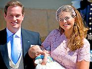 Zweedse prinses Leonore gedoopt