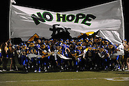 Oxford High takes the field vs. New Hope in high school football in Oxford, Miss. on Friday, September 28, 2012. Oxford won 29-17 to improve to 6-0.