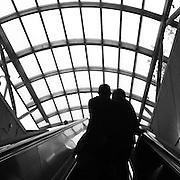 Escalator in Washington, D.C. iPhone 4 with Instagram app. (Sam Lucero photo)