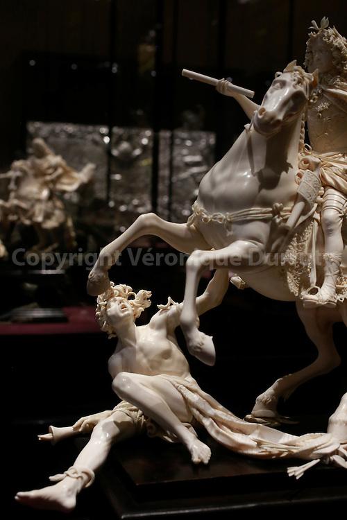Ivory Sculpture, Kunsthistorisches Museum, Vienne, Autriche // Sculpture en ivoire, Kunsthistorisches Museum, Vienne, Autriche