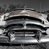 Old car grill from the late 1950's