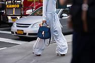 Chloe Bag and Silk Pajamas, Outside Noon by Noor SS2017