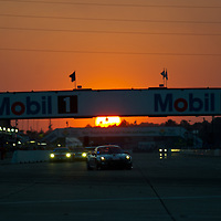 Sunset at Sebring #077 Magnus Racing Porsche 911 GT3 Cup: John Potter, Craig Stanton, Matthew Marsh