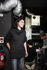 Clotilde is a projectionist (May 2010)