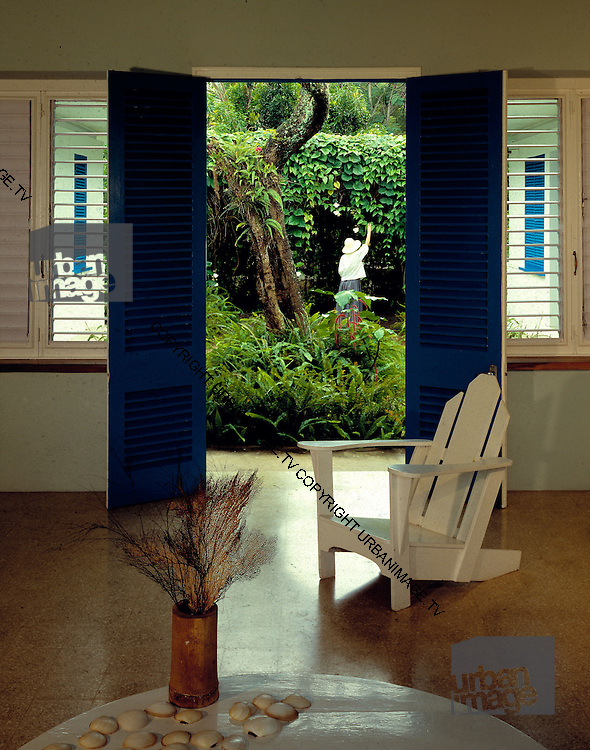 Fleming House Interior - Goldeneye - Jamaica