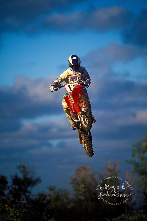 Motocross jump, Kauai, Hawaii