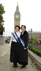 Oct 24 2012-UK Suffragettes photocall