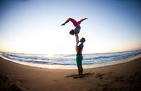 Steven Schmidt & Mary Chapman at Montara Beach, San Francisco