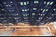 Arguably the world's first skyscraper, the historic Monadnock building in Chicago's Loop was built between 1889-1893 by noted architecture teams Burnham & Root and Holabird & Roche. The Monadnock is listed on the National Register of Historic Places.