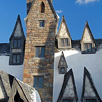 Florida, Orlando. Wizarding World of Harry Potter at Universal Islands of Adventure.
