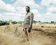 "Makiyi Lewis, 36, Malawi. ""I Lost my land."" 