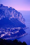 Image of the Italian island of Capri in Italy
