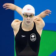 Swimming Penny Oleksiak Silver medal
