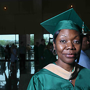 Barbara O, Smith pose for a photo after Wilmington University commencement exercise Sunday, May 17, 2015, at Chase Center On The Riverfront in Wilmington Delaware.