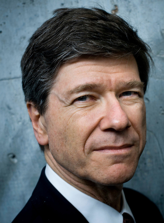 Professor Jeffrey Sachs, The Earth Institute, Columbia University..Photographer: Chris Maluszynski /MOMENT