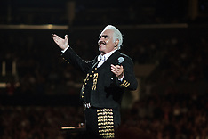 Vicente Fernandez Performs at Staples Center