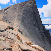 Half Dome North Saddle Edge - Yosemite
