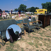 USA, Maryland, Antique and junk auction in town of Crumpton at Dixon's Antiques.