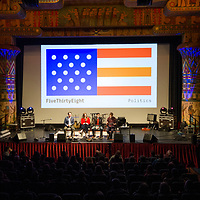 Treefort Music Festival, Hackfort: Live taping of FiveThirtyEight politics podcast with Nate Silver at the Egyptian Theatre, Allison Corona photo.