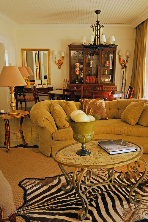 Presidential Suite at the Royal Livingstone Hotel, Livingstone, Southern Province, Zambia