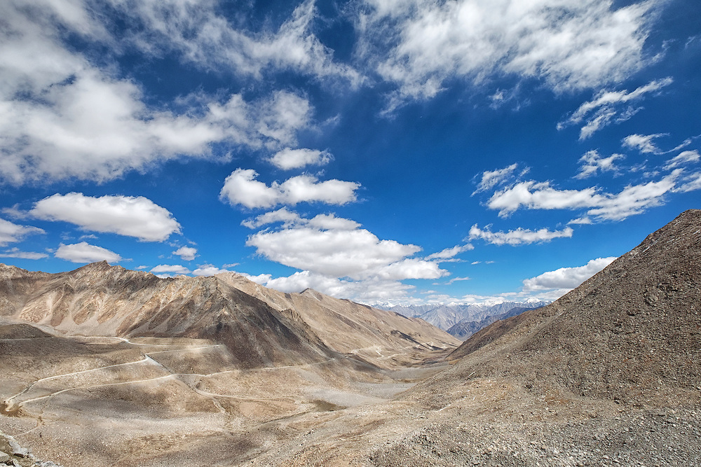 View from Khardungla Pass