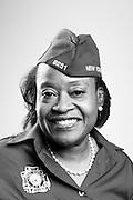 Adine C. DeMond<br /> Army<br /> Spec. 4<br /> 71L<br /> 1982 - 1987<br /> <br /> Veterans Portrait Project<br /> St. Louis, MO