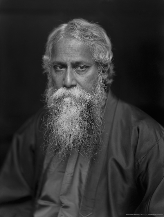Rabindranath Tagore, Indian Poet and Author, 1920