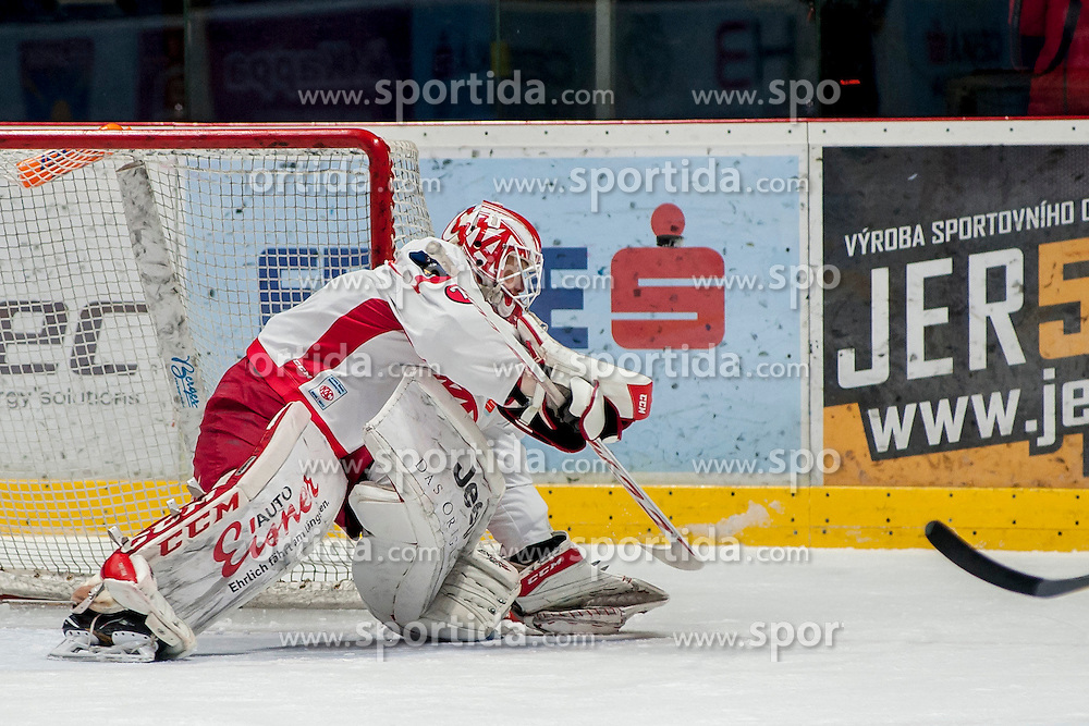 13.01.2017, Ice Rink, Znojmo, CZE, EBEL, HC Orli Znojmo vs EC KAC, 43. Runde, im Bild Tomas Duba (EC KAC) // during the Erste Bank Icehockey League 43th round match between HC Orli Znojmo and EC KAC at the Ice Rink in Znojmo, Czech Republic on 2017/01/13. EXPA Pictures © 2017, PhotoCredit: EXPA/ Rostislav Pfeffer